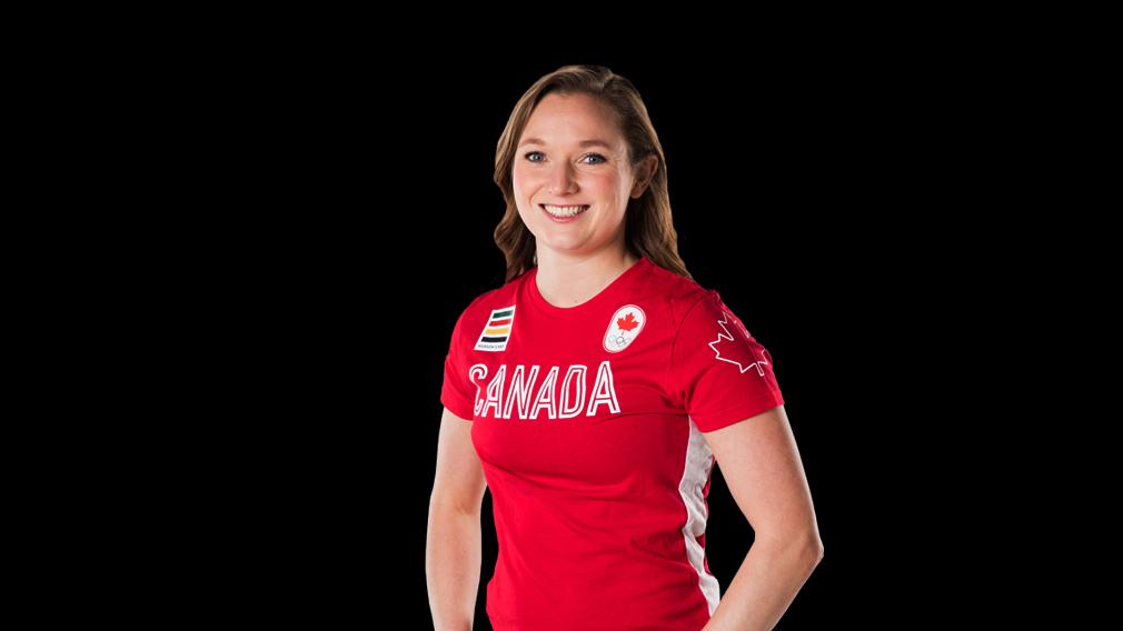 Rosie MacLennan of Canada
