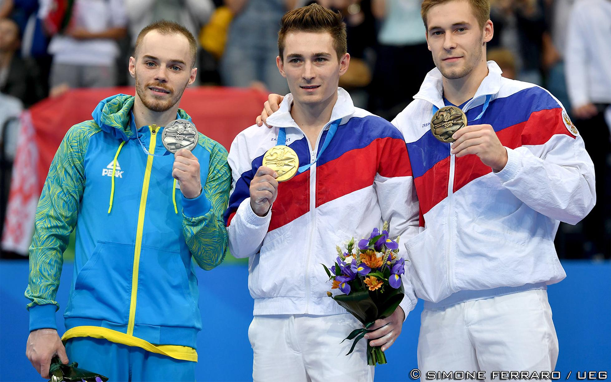 David Belyavskiy, Oleg Verniaiev, Vladislav Poliashov