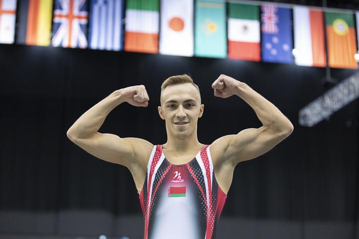 Uladzislau Hancharou of Belarus
